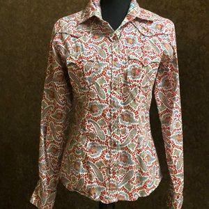 Panhandle Slim Paisley Long Sleeve Western shirt